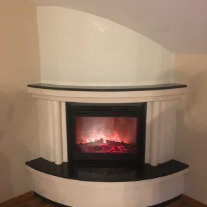 Classic flame elektirikli şömine modeli bş 134
