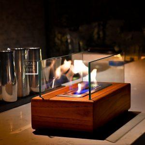 Masaüstü bio şömine modeli Relax